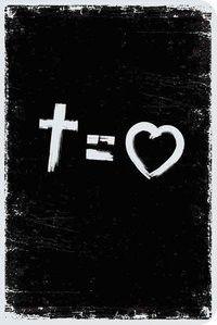 Bíblia NVT 960 Cross Equals Love B&W - Letra Normal Nova Versão Transformadora