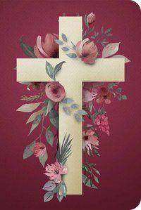 Bíblia NVT 960 Cruz Flores - Letra Normal Nova Versão Transformadora