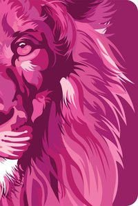 Bíblia NVT 960 Lion Colors Pink - Letra Normal Nova Versão Transformadora