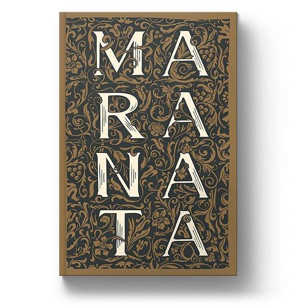 Bíblia ARC Maranata Ornamentos - Letra Gigante - Com Harpa Avivada e Corinhos