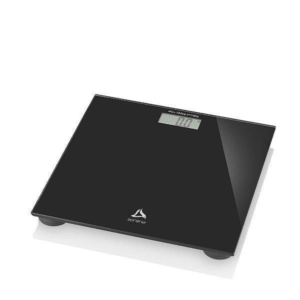 Balança Digital Digi-health para Academia e Banheiro Suporta Até 180 kg Visor LCD