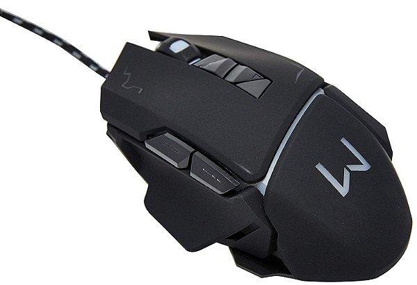 Mouse Gamer 3200 Dpi Preto Usb Warrior 3 Anos Garantia - MO261