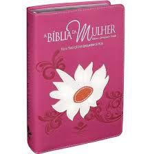 Bíblia Da Mulher Nova Tradução Linguagem De Hoje Com Índice e Capa Com Flor Margarida