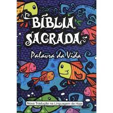 Bíblia Sagrada Palavra Da Vida Nova Tradução Linguagem De Hoje Capa Ilustrada Para Crianças