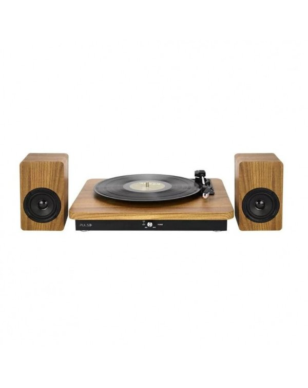 Vitrola Retro Pulse Mult. Sp366 100W Micro System Bt/Aux/Usb