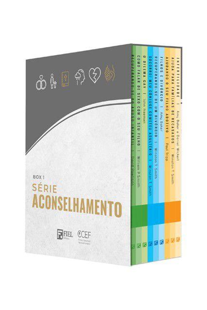 Box 1 Livros Série Aconselhamento Nº 01 A Nº 09 Editora Fiel