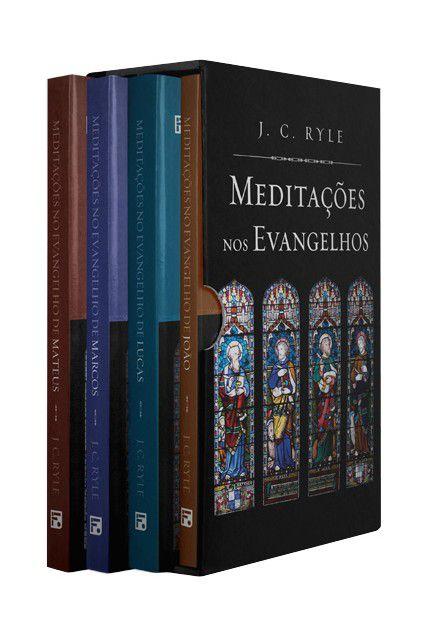 Box 4 Livros | Meditações nos Evangelhos | J. C. Ryle