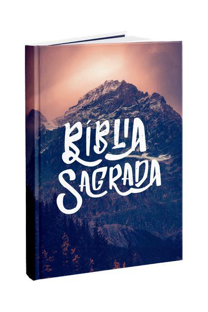 Bíblia Sagrada Nova Almeida Atualizada Capa Montanha