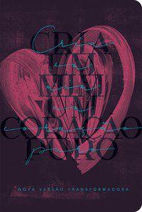 Bíblia NVT 960 Coração Púrpura - Letra Normal Nova Versão Transformadora