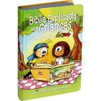 Bíblia Explicada para Crianças ilustrações Mig Meg Nova NTLH
