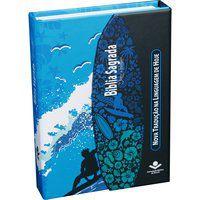 Bíblia Sagrada Letra Maior Capa Surf NTLH Fonte de Bênçãos