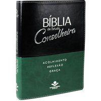 Bíblia de Estudo Conselheira Capa couro Nova Almeida NAA