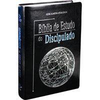 Bíblia de Estudo do Discipulado Capa couro Nova Almeida NAA