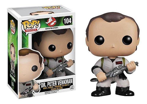 Ghostbusters Dr. Peter venkman Funko Pop