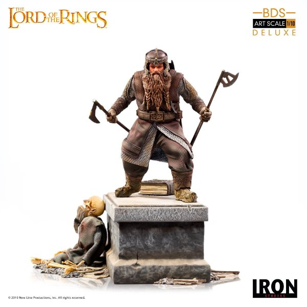 RESERVA: Gimli Deluxe BDS Art Scale 1/10 - Lord of the Rings