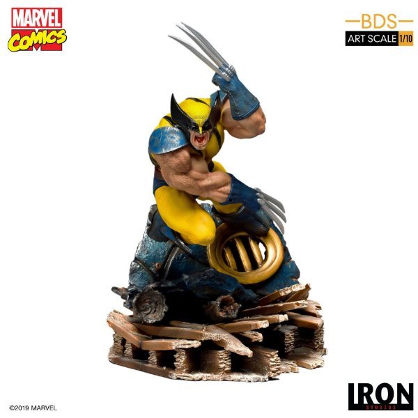 RESERVA: Wolverine BDS Art Scale - Marvel Comics