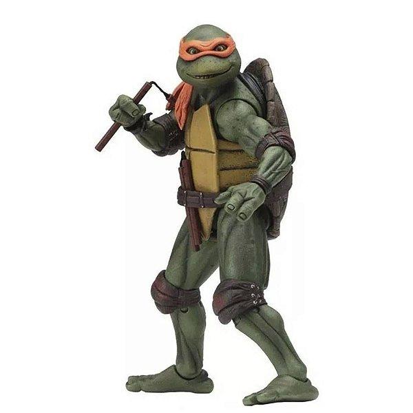 "Michelangelo - Tartarugas Ninja 7"" Figure (1990 Movie) - Neca"