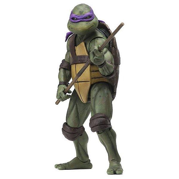"Donatello - Tartarugas Ninja 7"" Figure (1990 Movie) - Neca"
