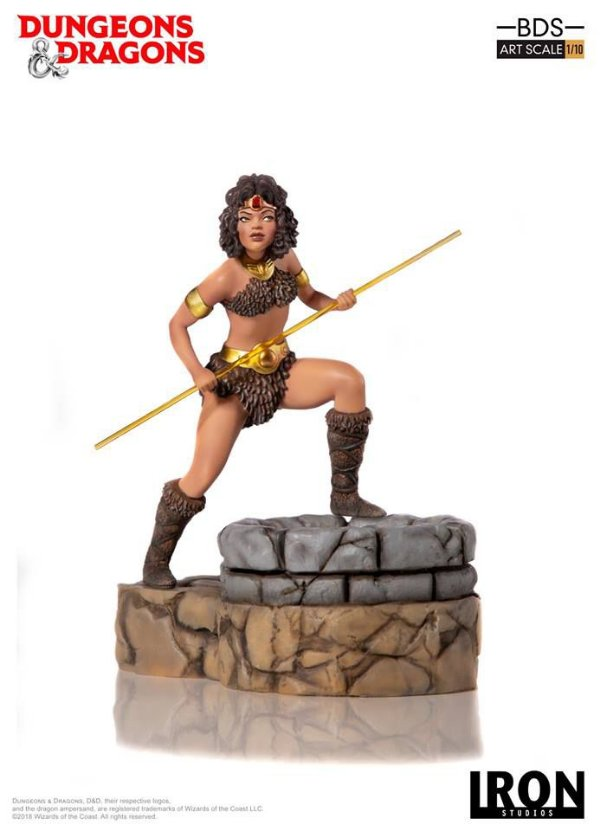 Diana 1/10 BDS Caverna do Dragão - Iron Studios