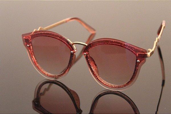 Óculos detalhes