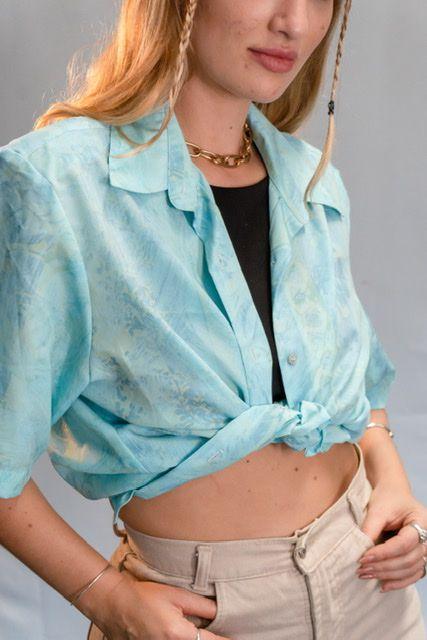 Camisa Vintage Vibes Blues
