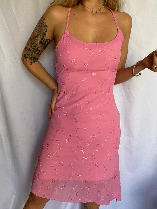 Vestido Midi Rosinha (P/M)