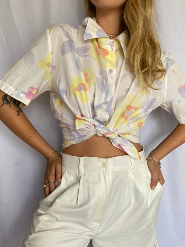 Camisa floral (M)