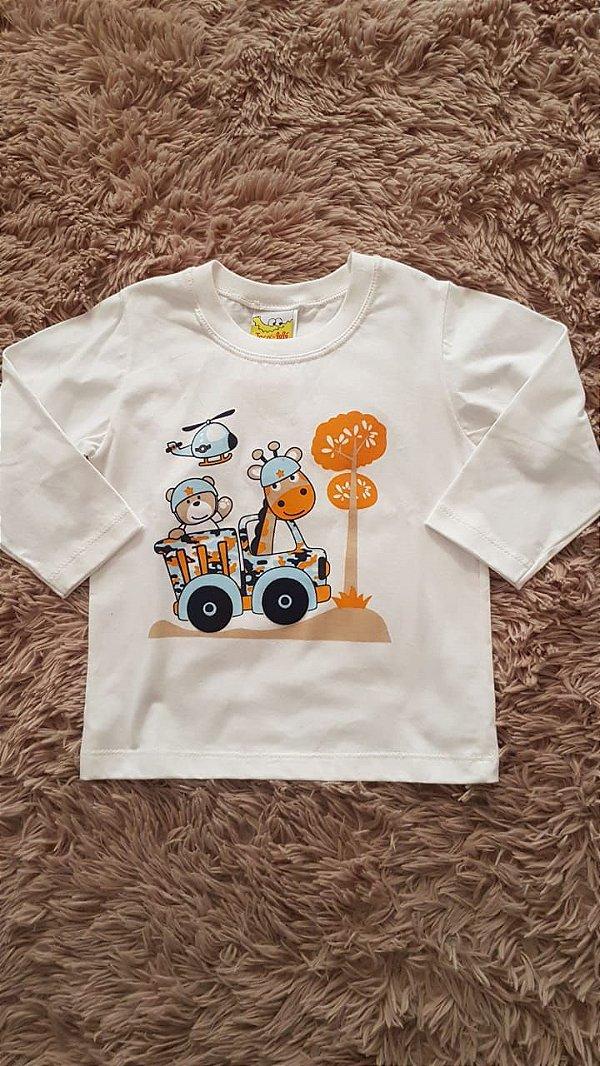 587 Tm 1_ Camiseta  masculino  animais
