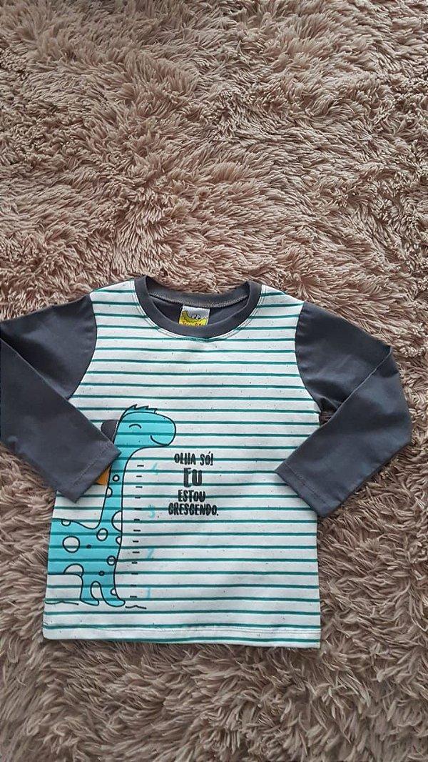 44759  Tm 3 Camiseta masculino listrado
