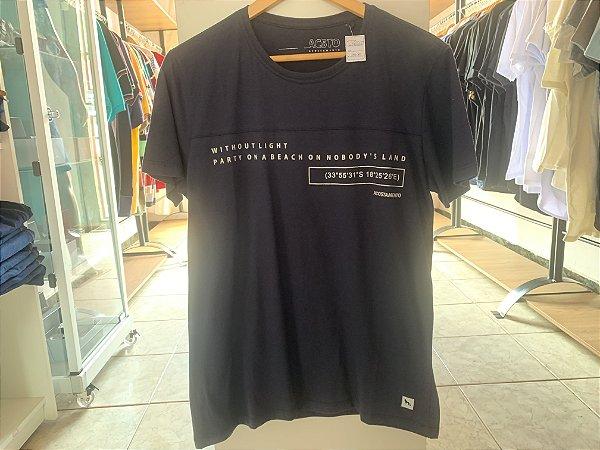 Camiseta da acostamento azul escuro  M