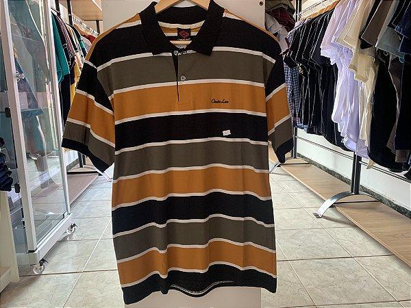 Camiseta masculina riscado M