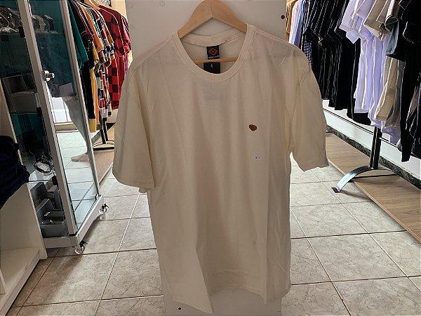 Camiseta masculina bege GG
