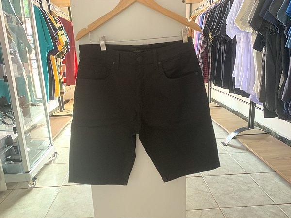 Short jeans acostamento preta 40