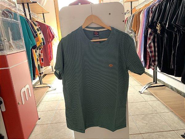 Camiseta masculina verde P