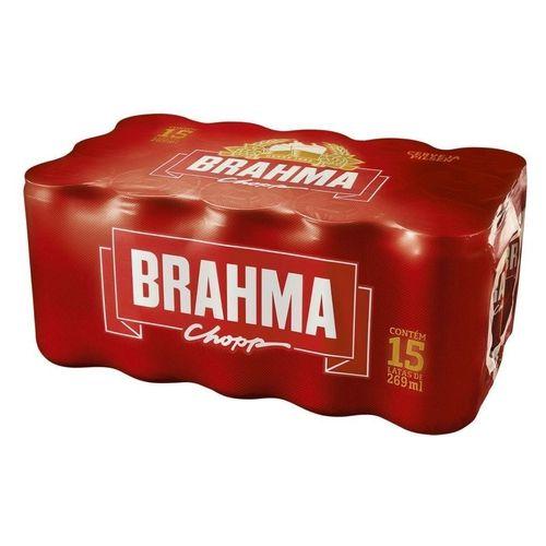 CERVEJA BRAHMA PALITO CAIXA COM 15 - GELADA