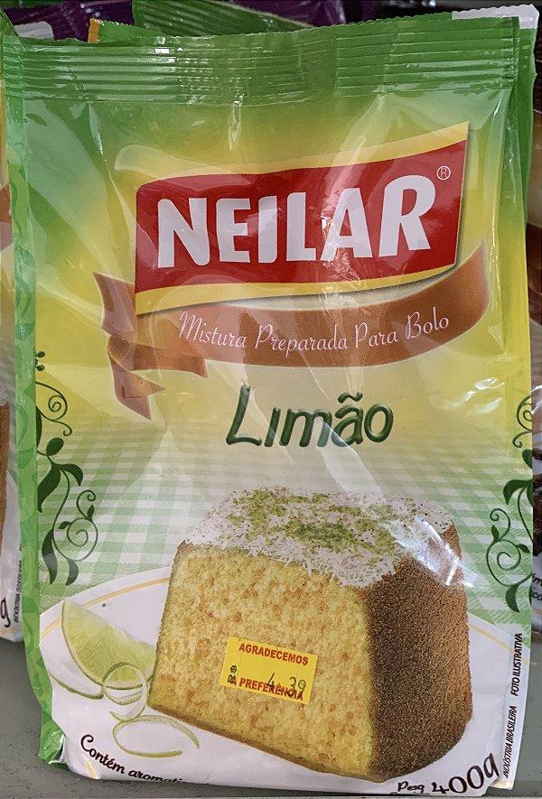 Massa de bolo limão 400g