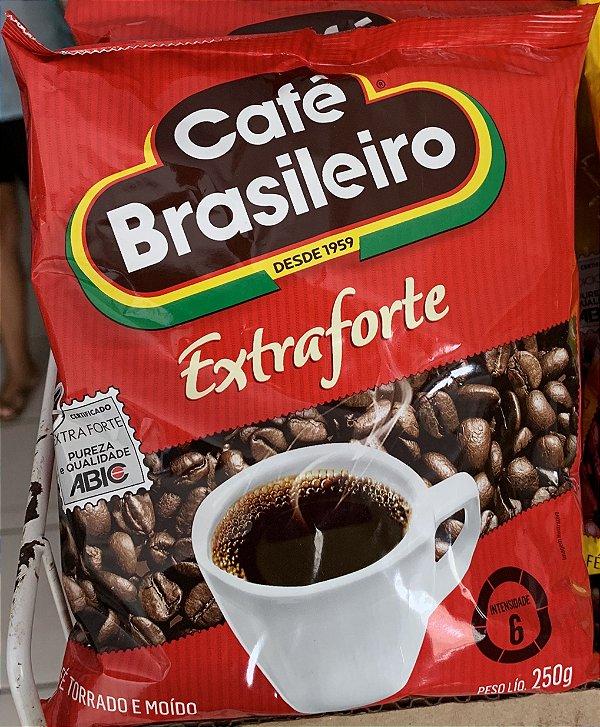 Café brasileiro extraforte 250g