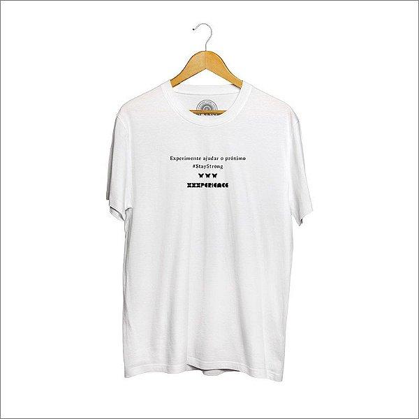 Camiseta XXXPERIENCE Social - Branca
