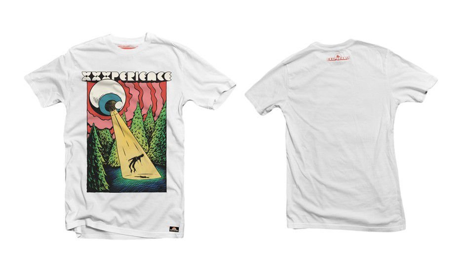 Camiseta XXXPERIENCE Abdução - Branca