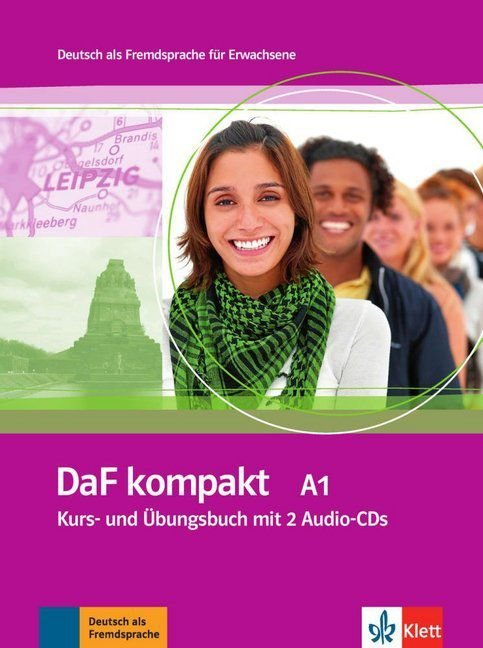 DaF kompakt A1 - Kurs- und šbungsbuch + 2 Audio-CDs