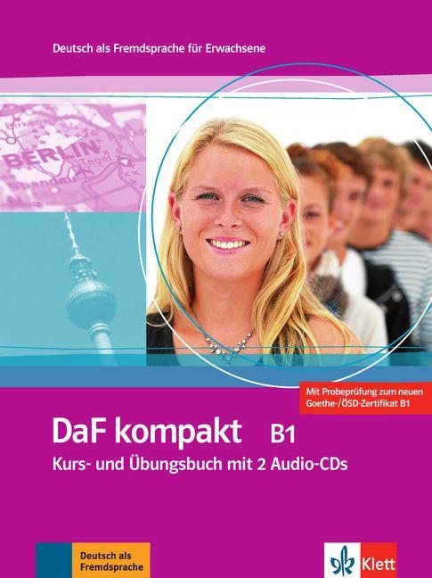 DaF kompakt B1 - Kurs- und übungsbuch + 2 Audio-CDs