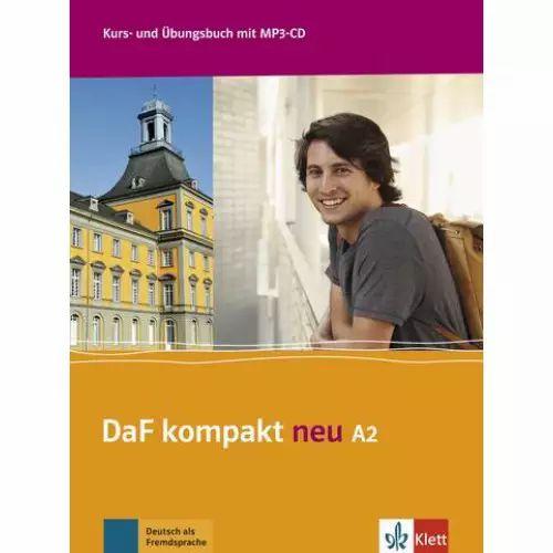 DaF kompakt Neu A2 - Kurs- und übungsbuch + MP3-CD