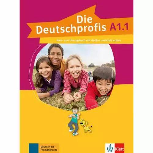 Die Deutschprofis A1/1 - Kurs- und šbungsbuch mit Audios und Clips online