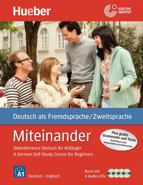 Miteinander - Englische Ausgabe - Buch mit 4 Audio-CDs