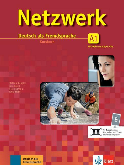 Netzwerk A1 - Kursbuch mit 2 DVDs und 2 Audio-CDs