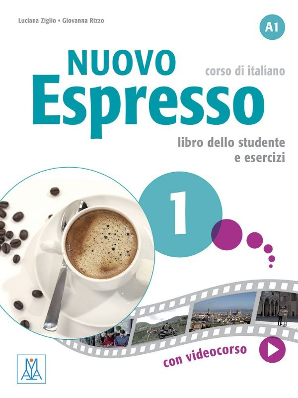 Nuovo Espresso 1 - Libro dello studente e esercizi - A1
