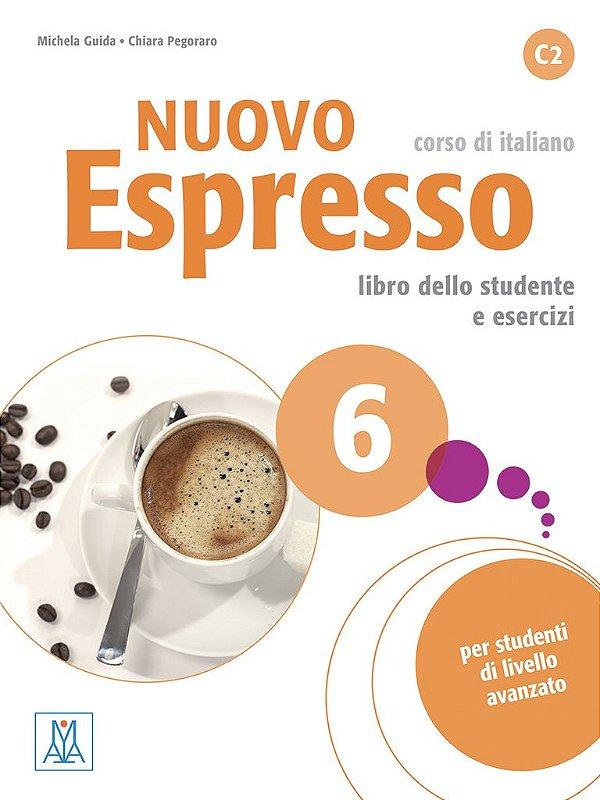 Nuovo Espresso 6 - Libro dello studente e esercizi + CD audio - C2