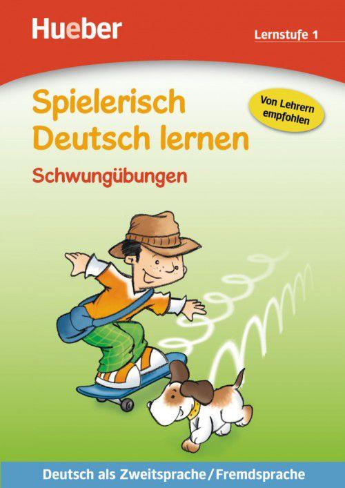 Spielerisch Deutsch lernen - Schwungübungen - Lernstufe 1
