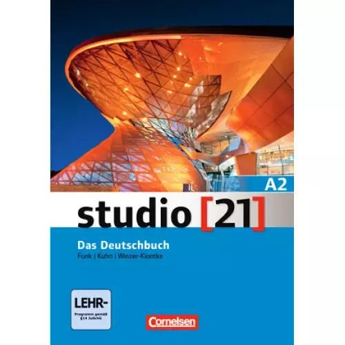 Studio 21 A2 - Kurs- und Übungsbuch mit DVD-ROM (VERSÇO ANUAL)