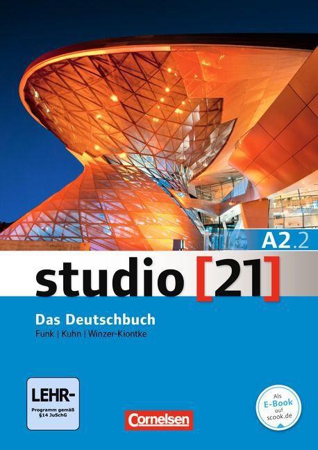 Studio 21 A2: Teilband 2 - Kurs- und Übungsbuch mit DVD-ROM (VERSÇO SEMESTRAL PARTE 2)